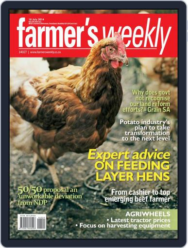 Farmer's Weekly July 14th, 2014 Digital Back Issue Cover