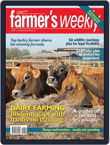 Farmer's Weekly August 11th, 2014 Digital Back Issue Cover