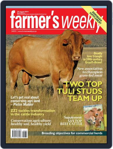 Farmer's Weekly (Digital) August 25th, 2014 Issue Cover