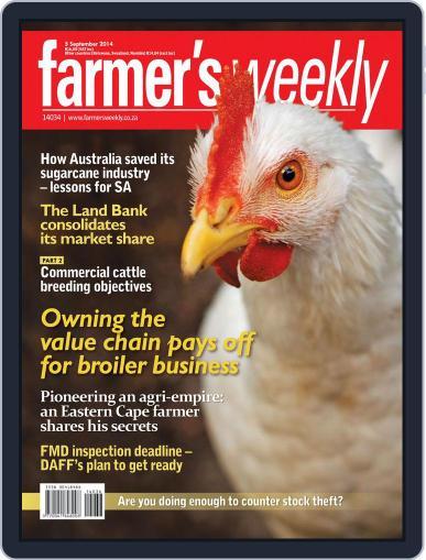 Farmer's Weekly (Digital) September 1st, 2014 Issue Cover