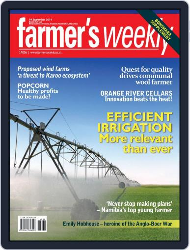Farmer's Weekly (Digital) September 15th, 2014 Issue Cover