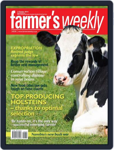 Farmer's Weekly September 29th, 2014 Digital Back Issue Cover