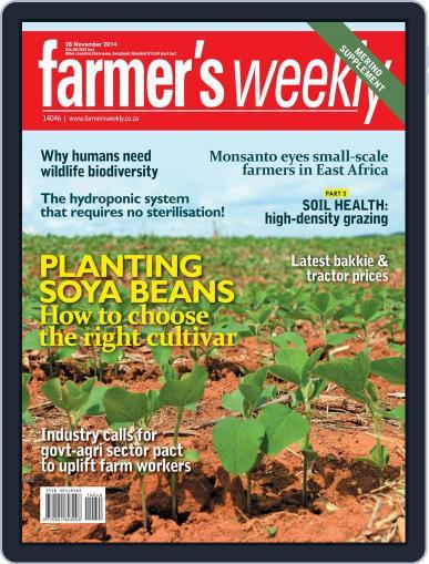 Farmer's Weekly November 24th, 2014 Digital Back Issue Cover
