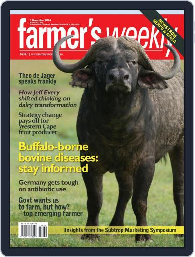 Farmer's Weekly (Digital) December 1st, 2014 Issue Cover
