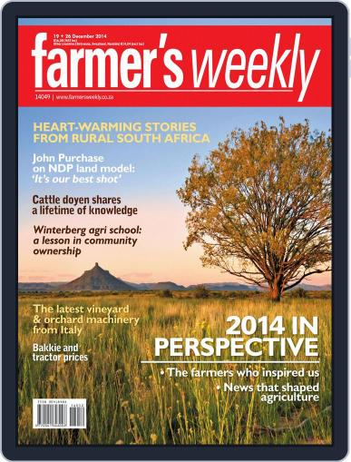 Farmer's Weekly (Digital) December 15th, 2014 Issue Cover