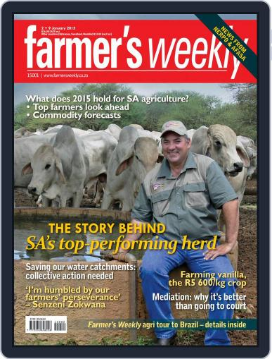 Farmer's Weekly (Digital) December 29th, 2014 Issue Cover