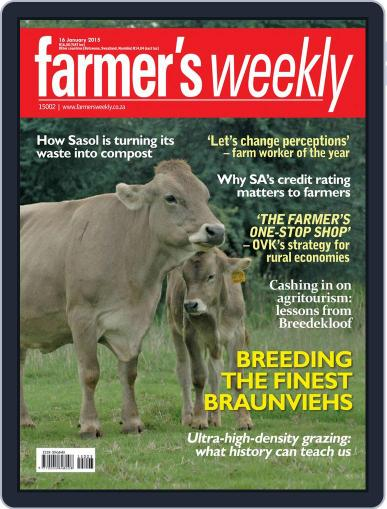 Farmer's Weekly (Digital) January 16th, 2015 Issue Cover