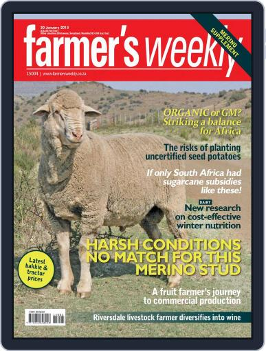 Farmer's Weekly (Digital) January 26th, 2015 Issue Cover