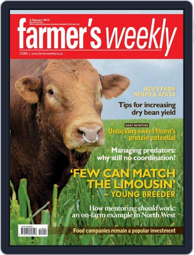 Farmer's Weekly (Digital) February 2nd, 2015 Issue Cover
