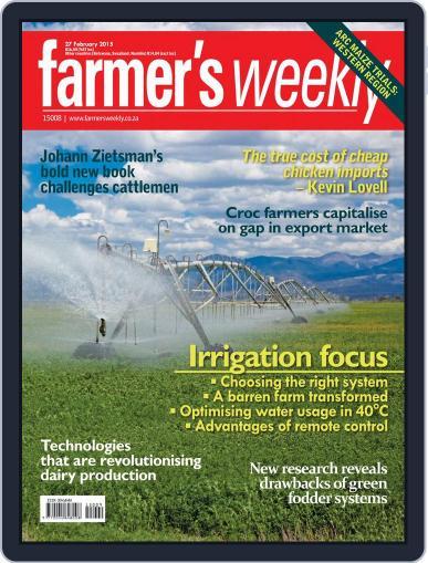 Farmer's Weekly (Digital) February 23rd, 2015 Issue Cover