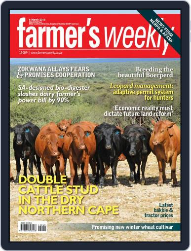 Farmer's Weekly (Digital) March 2nd, 2015 Issue Cover