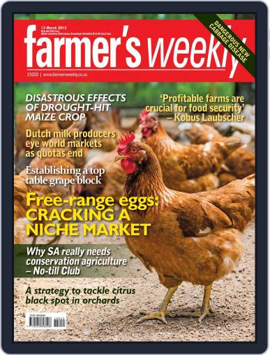 Farmer's Weekly March 9th, 2015 Digital Back Issue Cover