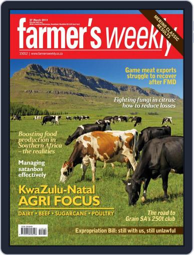 Farmer's Weekly (Digital) March 23rd, 2015 Issue Cover