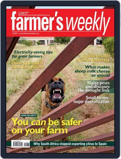 Farmer's Weekly April 13th, 2015 Digital Back Issue Cover