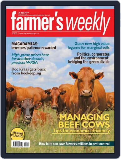 Farmer's Weekly April 20th, 2015 Digital Back Issue Cover