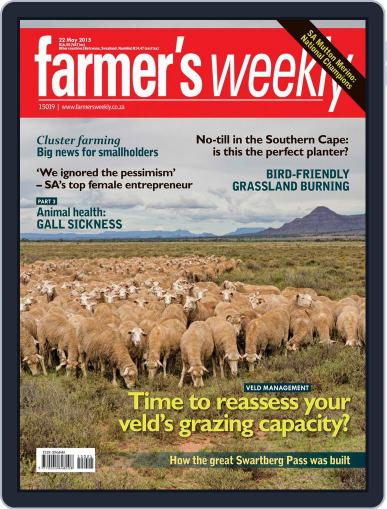 Farmer's Weekly (Digital) May 18th, 2015 Issue Cover