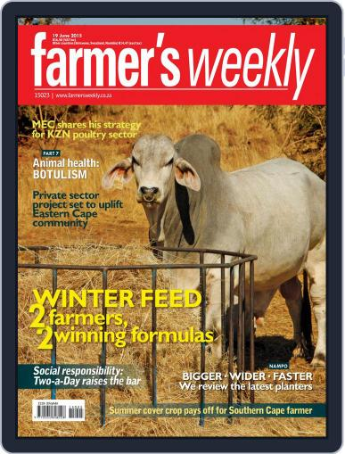 Farmer's Weekly (Digital) June 15th, 2015 Issue Cover
