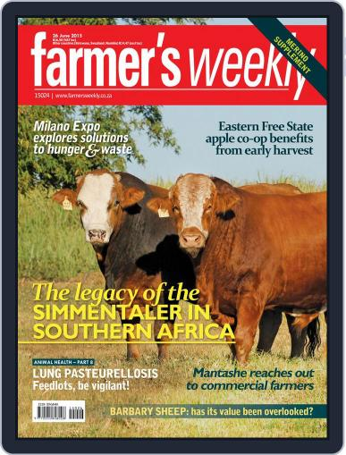 Farmer's Weekly (Digital) June 22nd, 2015 Issue Cover