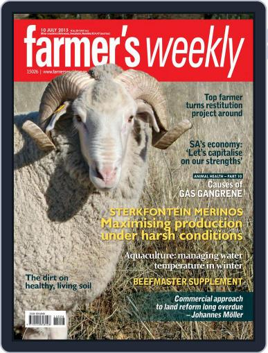 Farmer's Weekly July 6th, 2015 Digital Back Issue Cover