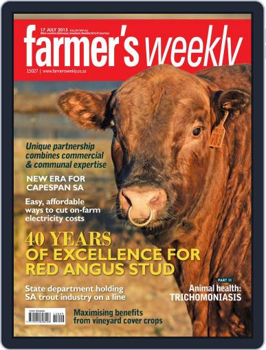 Farmer's Weekly (Digital) July 13th, 2015 Issue Cover