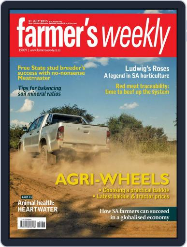 Farmer's Weekly (Digital) July 31st, 2015 Issue Cover