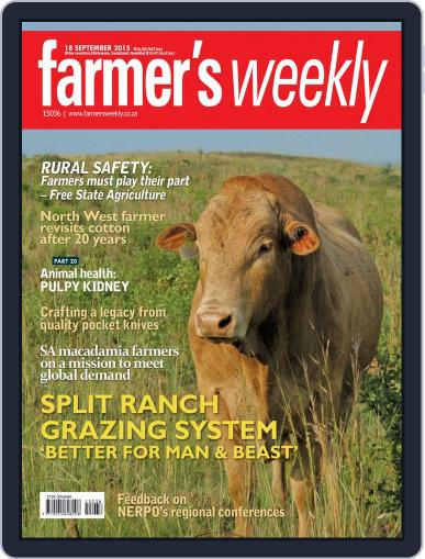 Farmer's Weekly September 18th, 2015 Digital Back Issue Cover