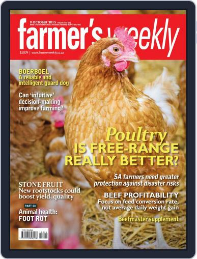 Farmer's Weekly (Digital) October 9th, 2015 Issue Cover