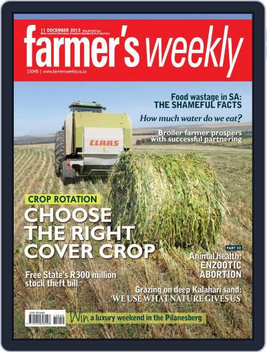Farmer's Weekly (Digital) December 11th, 2015 Issue Cover