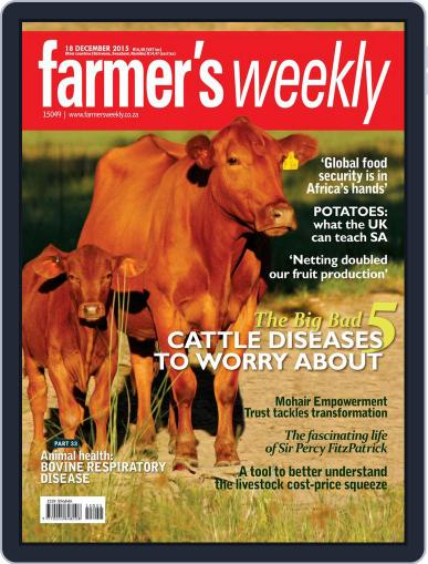 Farmer's Weekly December 18th, 2015 Digital Back Issue Cover