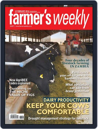 Farmer's Weekly (Digital) February 19th, 2016 Issue Cover
