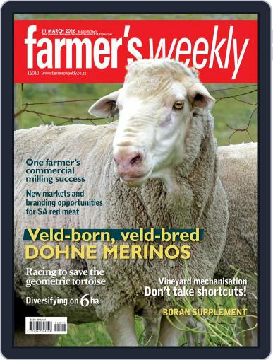 Farmer's Weekly (Digital) March 7th, 2016 Issue Cover