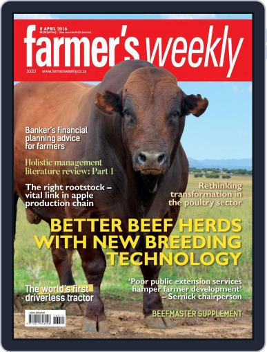 Farmer's Weekly (Digital) April 4th, 2016 Issue Cover