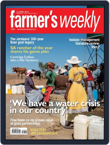 Farmer's Weekly April 11th, 2016 Digital Back Issue Cover