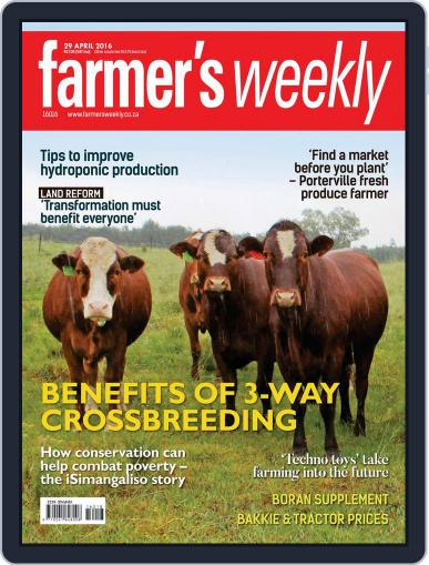 Farmer's Weekly (Digital) April 25th, 2016 Issue Cover