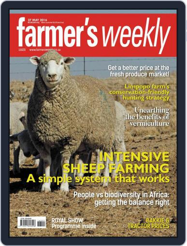 Farmer's Weekly (Digital) May 23rd, 2016 Issue Cover