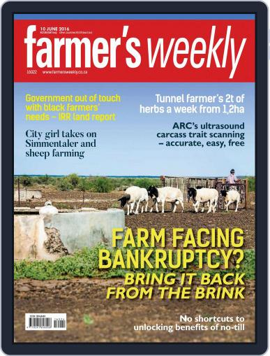 Farmer's Weekly June 6th, 2016 Digital Back Issue Cover
