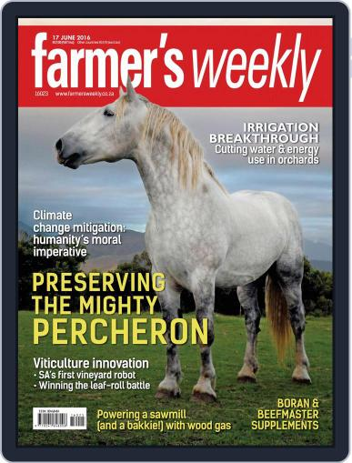Farmer's Weekly June 13th, 2016 Digital Back Issue Cover