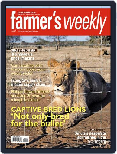 Farmer's Weekly (Digital) September 23rd, 2016 Issue Cover