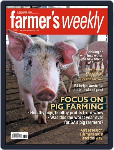 Farmer's Weekly (Digital) October 7th, 2016 Issue Cover
