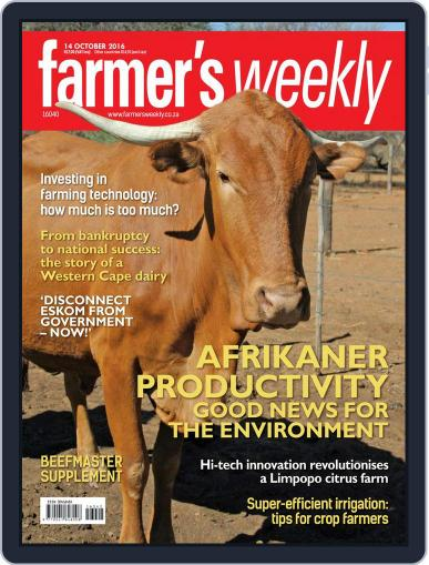 Farmer's Weekly October 14th, 2016 Digital Back Issue Cover