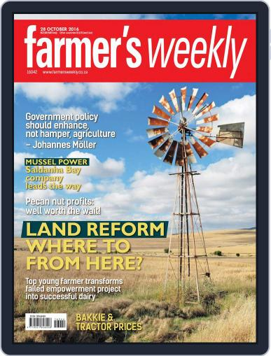 Farmer's Weekly October 28th, 2016 Digital Back Issue Cover