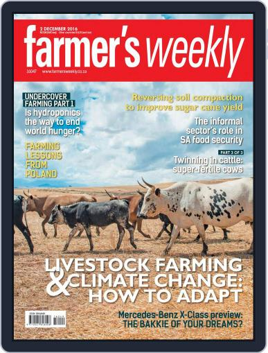 Farmer's Weekly (Digital) December 2nd, 2016 Issue Cover