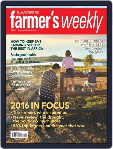 Farmer's Weekly (Digital) December 23rd, 2016 Issue Cover