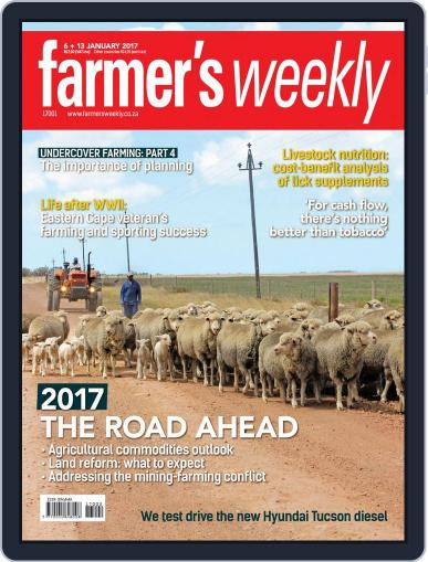 Farmer's Weekly (Digital) January 6th, 2017 Issue Cover