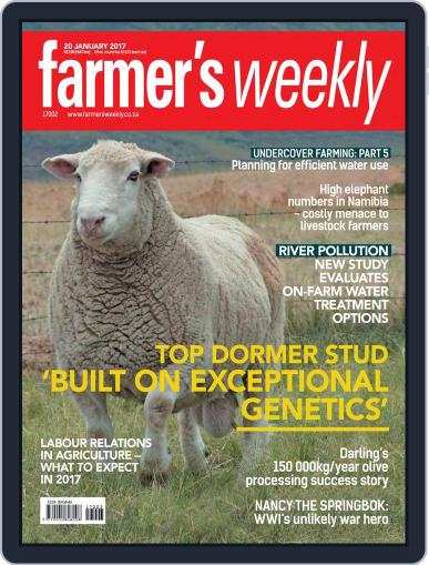 Farmer's Weekly January 20th, 2017 Digital Back Issue Cover
