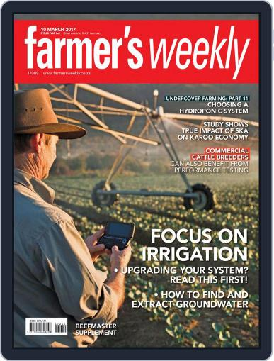 Farmer's Weekly March 10th, 2017 Digital Back Issue Cover
