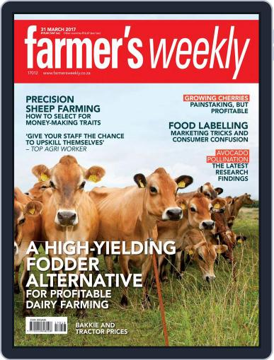 Farmer's Weekly March 27th, 2017 Digital Back Issue Cover