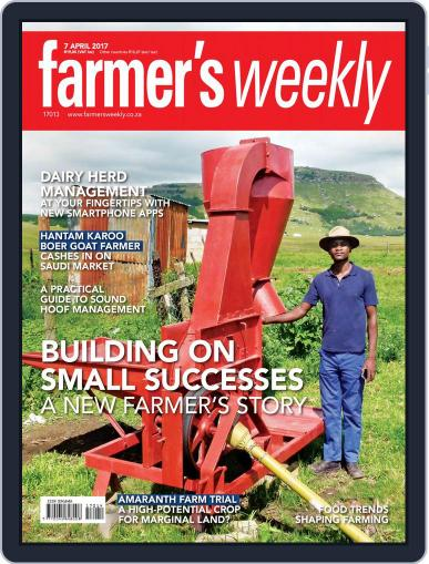 Farmer's Weekly (Digital) April 7th, 2017 Issue Cover