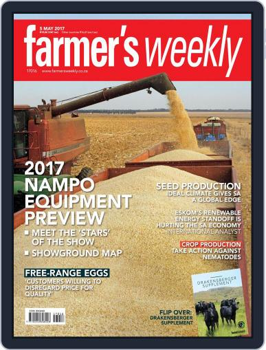 Farmer's Weekly May 5th, 2017 Digital Back Issue Cover