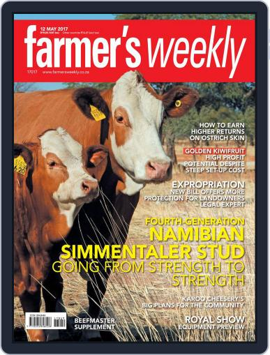 Farmer's Weekly May 12th, 2017 Digital Back Issue Cover